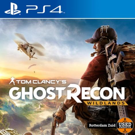 PS4 game | Ghost Recon Wildlands | Nieuw in seal
