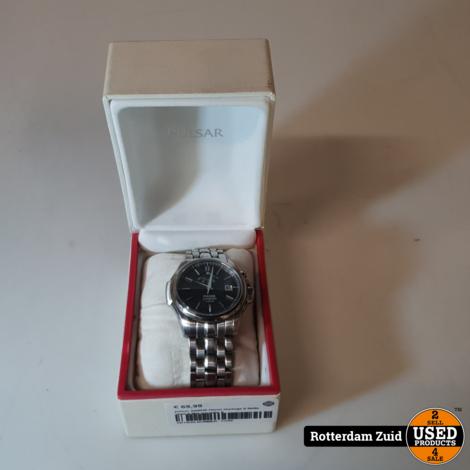 pulsar 4N0036 Heren Horloge II Nette staat II Met garantie II