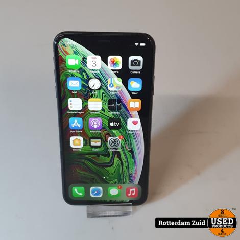 iPhone XS Max 64GB Space Grey  II Nette staat II Met garantie II