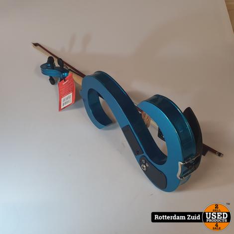 Stagg Electrische Viool Met koffer II NieuwII Met garantie II