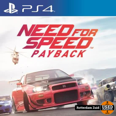 PS4 Game: Need For Speed Payback