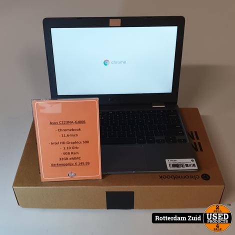 Asus C223NA-GJ006 Chromebook II Nette staat II Met garantie II