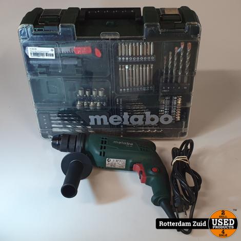 Metabo SBE 650 Klopboormachine set met koffer II Nette staat II Met garantie II