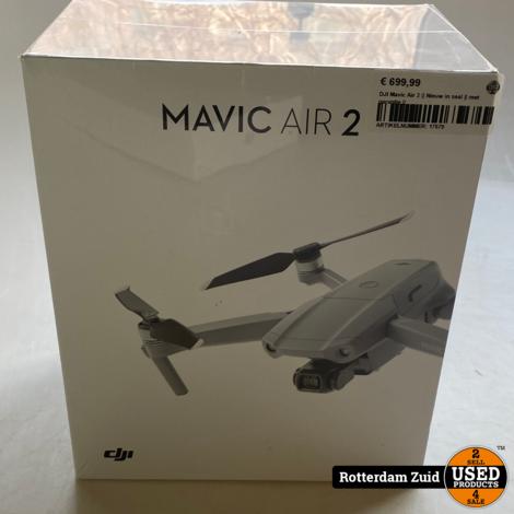DJI Mavic Air 2 || Nieuw in seal || met garantie ||