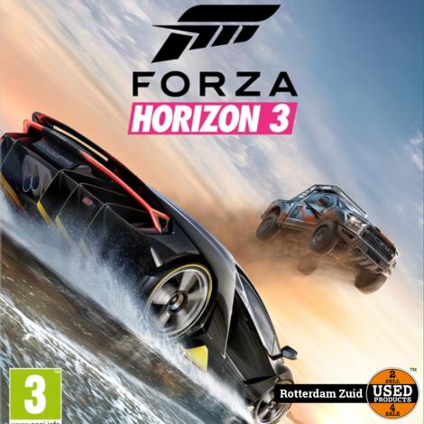 Xbox One Game:Forza Horizon 3