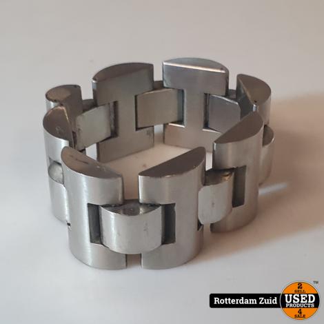 STRONG Steel Armband heren II Nette staat II Met garantie II