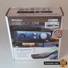 Presonus AudioBox iOne USB audio-interface    Nieuw in doos   