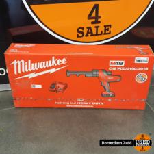 Milwaukee C18 PCG/310C-201B 18V Li-Ion Accu lijm- en kitspuit set    Nieuw in doos   