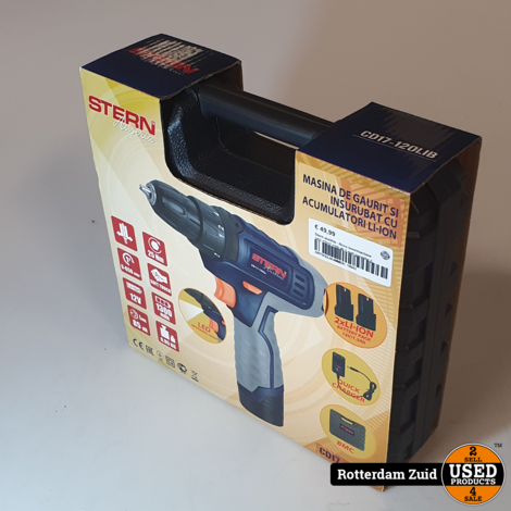 Stern austria - Accu boormachine 2AC CD17-120LIB || met garantie ||