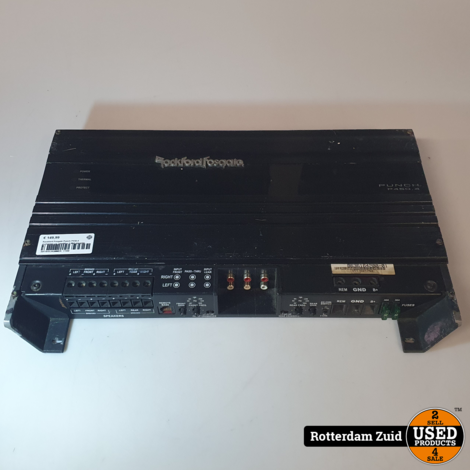 Rockford Fosgate Punch P450.4 4-channel car amplifier II Met garantie II