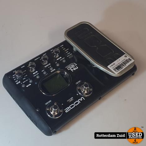 Zoom G2.1Nu Guitar FX multi-effect pedaal en USB audio interface II Nette staat II Met garantie II