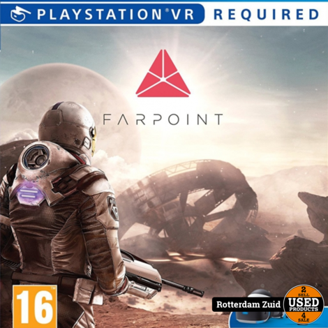 PS4 game VR   Farpoint