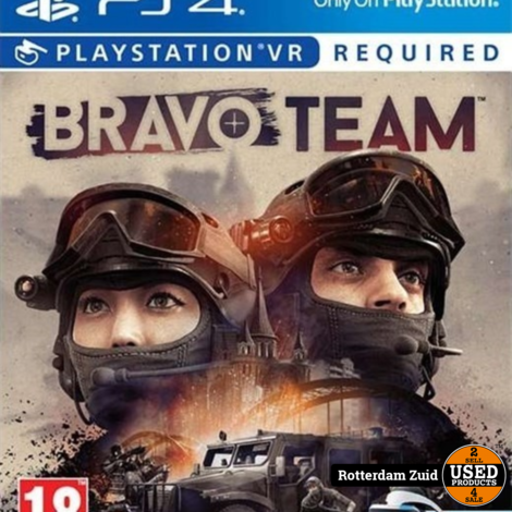 PS4 VR Game: Bravo Team
