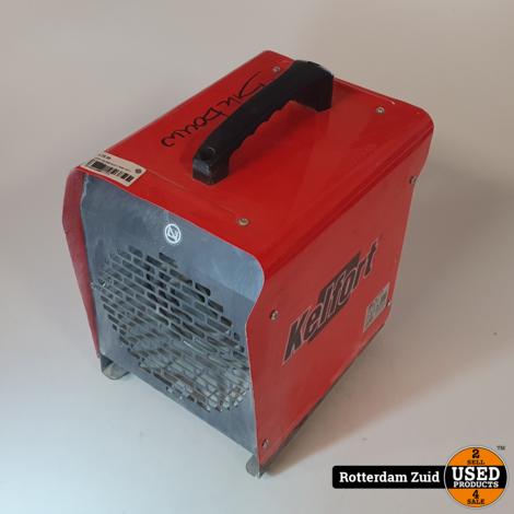 Kelfort SQ-2000 Heater II Nette taat II Met garantie II