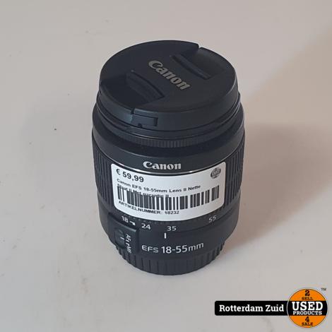 Canon EFS 18-55mm Lens II Nette Staat II Met garantie II
