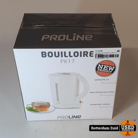 Bouilloire PK17 Waterkoker II Nieuw II Met garantie II
