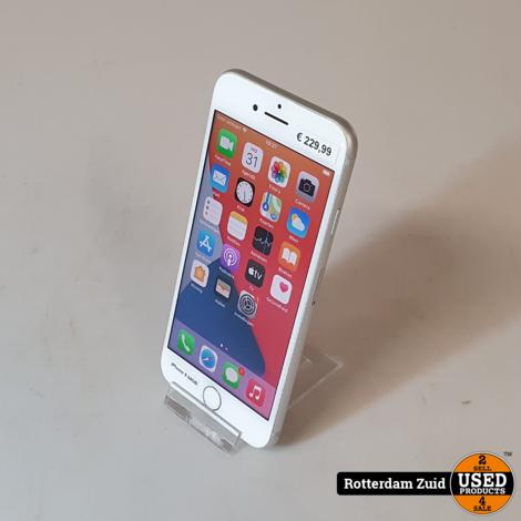 iPhone 8 64GB wit II Nette staat II Met garantie II