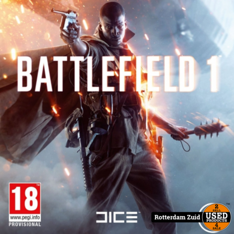 PS4 Game: Battlefield 1