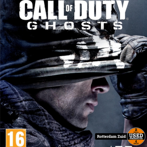 PS4 Game: Call Of Duty Ghosts