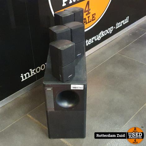 Bose Acoustimass 10 Series ii Subwoofer Met 5 speakers II Nette staat II Met garantie II