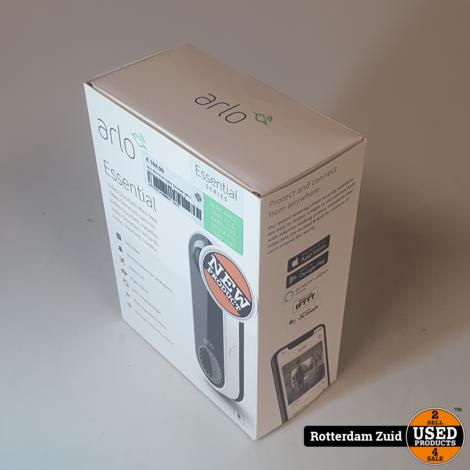 Arlo Wire Free Video Doorbell Wit II Nieuw in doos met garantie II