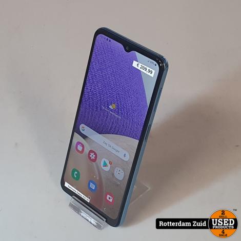 Samsung Galaxy A32 5G Blue    in nieuwstaat met garantie   