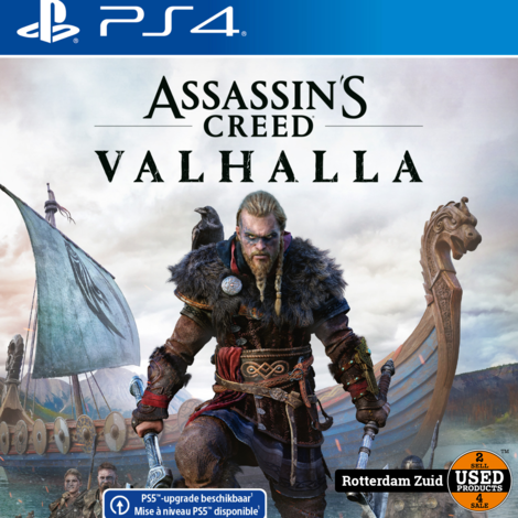 PS4 Game : Assassins Creed Valhalla