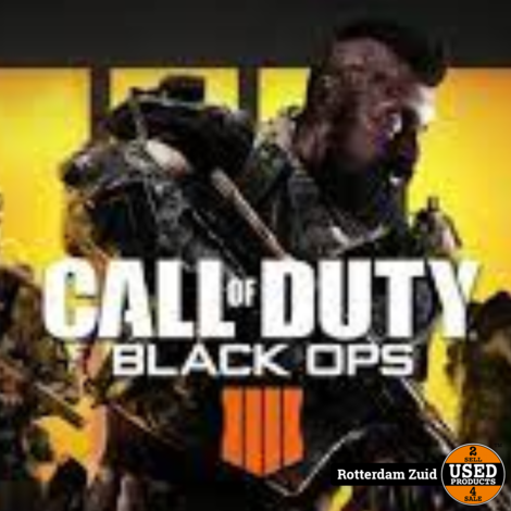 Call of Duty Black Ops PS4 Game