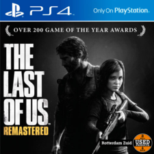 PS4 Game: the last of us remastered