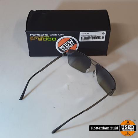 Porsche Design P´8478 Zwart Zonnebril II Nette staat II Met garantie II