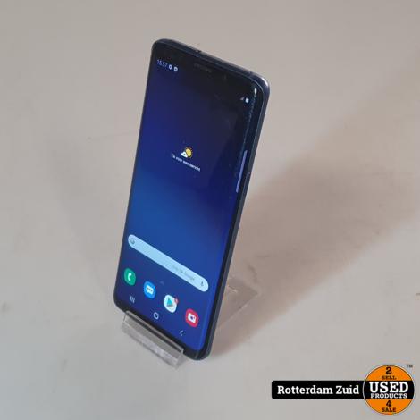 Samsung Galaxy S9 64GB Blauw II Nette staat II Met garantie II