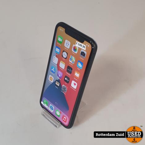 iPhone 11 64GB Zwart 4 Maanden oud II Nieuwstaat II Met garantie II