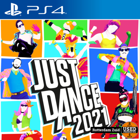 PS4 Game: Just Dance 2021