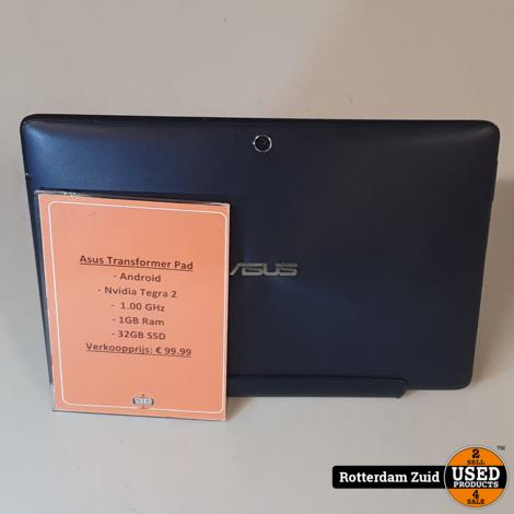 Asus Transformer Pad 32GB Blauw II Nette staat II Met garantie II