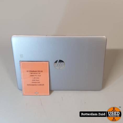 HP EliteBook 745 G3 - 8GB - 256GB - AMD Pro A10 II Nette staat II Met garantie II