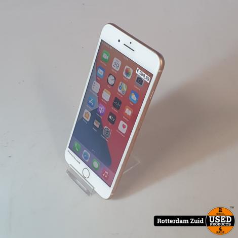 iPhone 8 Plus 64GB Roze II Nette staat II Met garantie II