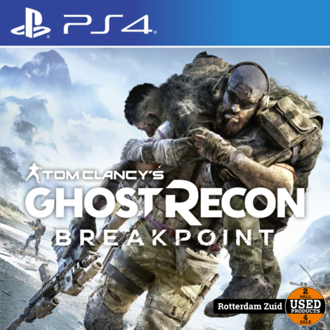 PS4 Game: Tome Clancy's Ghost Recon Breakpoint