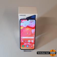 Samsung Galaxy A70 128GB Bluaw II Nieuwstaat II Met garantie II