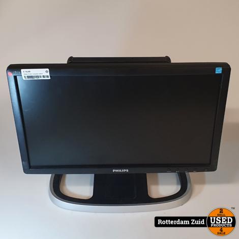 Philips 19 inch computer scherm II Nette staat II Met garantie II