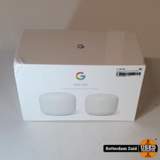 Google nest wifi 2 pack II Nieuw II Met Garantie II