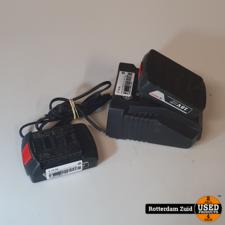 Bosch AL 1820 CV 14.4V / 18V Li-Ion Accu oplader Mette 2X 18V Accu II Met garantie II
