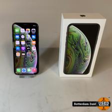 iPhone XS 64GB Space Gray    in prima staat met garantie   