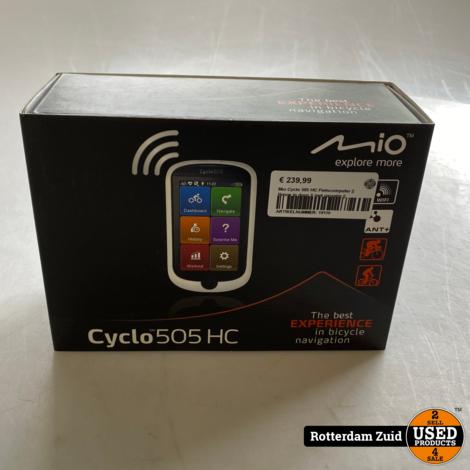 Mio Cyclo 505 HC Fietscomputer    Nieuw in doos    met garantie   