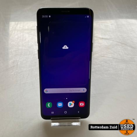 Samsung Galaxy S9 128GB Black | in nette staat met garantie ||