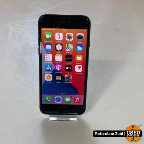 iPhone 8 128GB Black    in nieuwstaat met garantie   