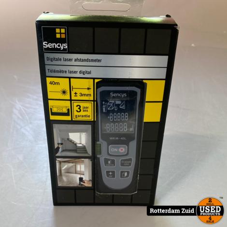 Sencys laser afstandsmeter 40m || nieuw ||