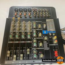 Samson MIX PAD MXP124FX Mixer    met garantie   