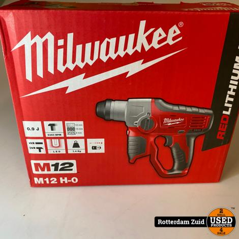 Milwaukee M12H/0 Accu Boorhamer 12V Body    nieuw in doos   