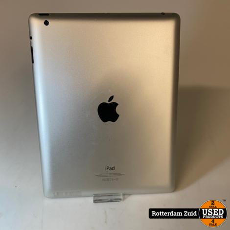 Apple iPad 4 32GB Wifi Zwart || in nette staat met garantie ||