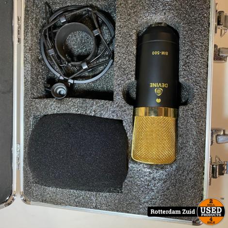 Devine BM-500 condensator studiomicrofoon
